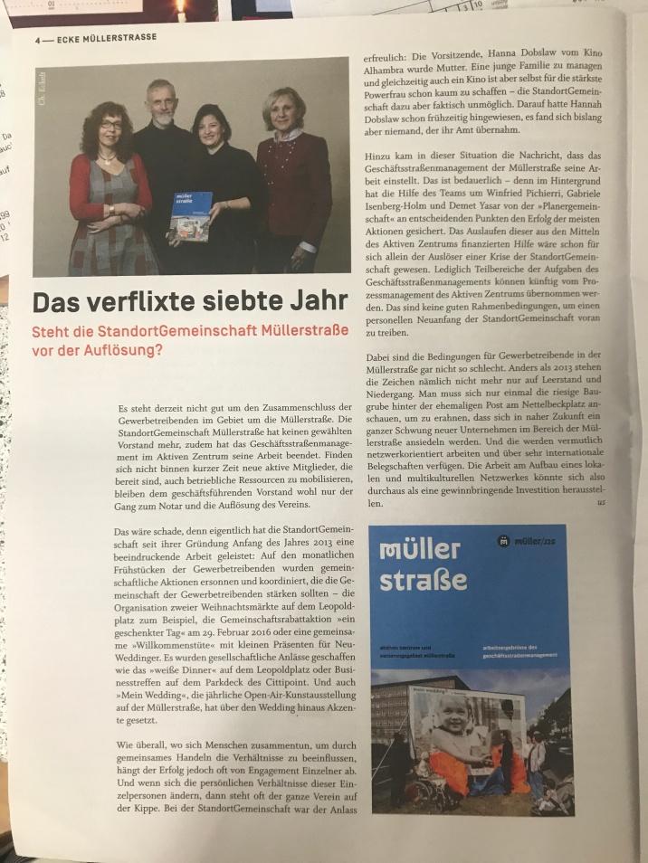 Ecke Müllerstrasse Nr. 6 , dez. 2019, Jan. 2020, Seite 4