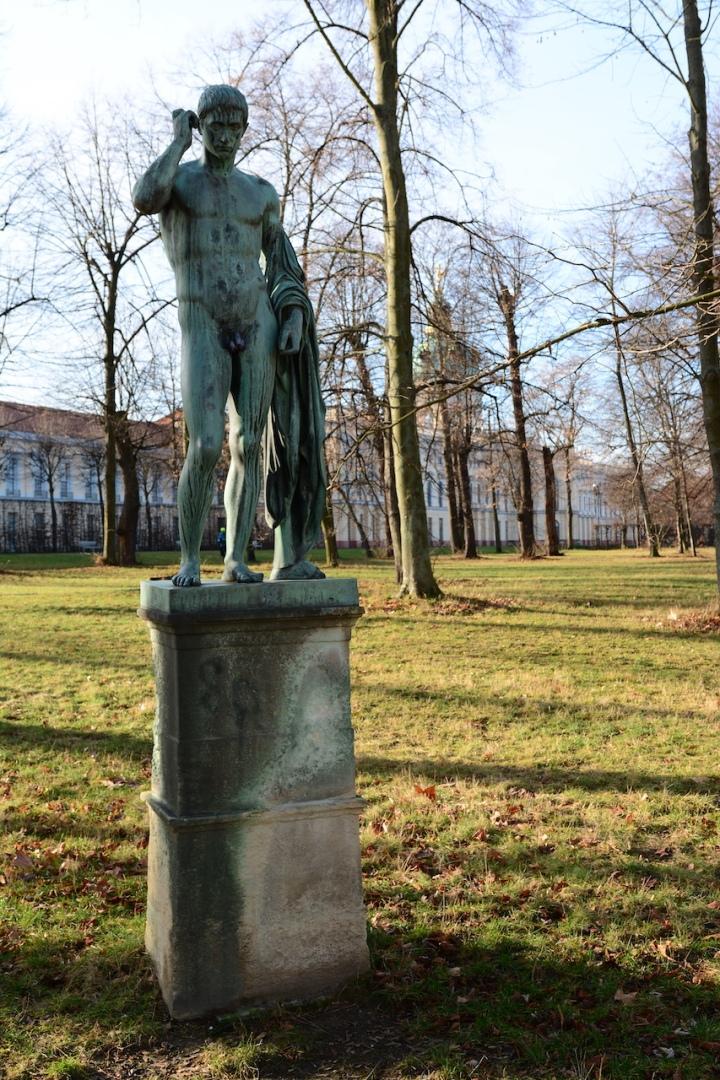 Im Schlosspark Charlottenburg (c) Foto von M.Fanke