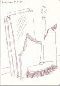 Renovieren, Zeichnung von Susanne Haun (c) VG Bild-Kunst, Bonn 20204