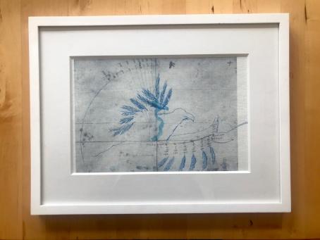 Zyklus Otto Lilienthal, gerahmt, Foto von Susanne Haun (c) VG Bild-Kunst, Bonn 2020