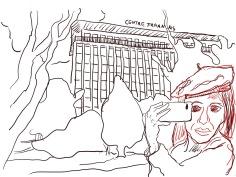 3 Entwurf für Mein Wedding 2020 vom Centre Francais von Susanne Haun (c) VG Bild-Kunst, Bonn 2020
